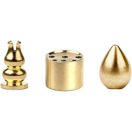 Kansoo Copper Incense Burner Cone Holder Gourd Copper Incense Burner 3 Styles