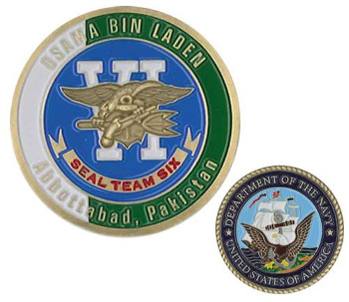 NIC Seal Team 6 Osama Bin Laden Challenge Coin