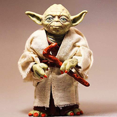 Star Wars: Yoda Carácter 13CM Figura De Acción Colección Animada Modelo Estatua-Genius Amor