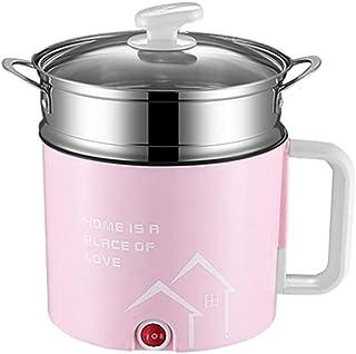 YWSZJ Mini machine de cuisson électrique multifonction Hot Pot simple Double couche disponible Hot Pot Multi cuiseur élect...