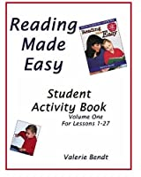 Reading Made Easy Student Activity Book One: A student workbook for Reading Made Easy 1882514718 Book Cover