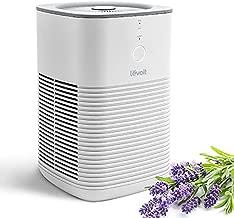 LEVOIT Air Purifier for Home Bedroom, HEPA Fresheners Filter Small Room Cleaner with Fragrance Sponge for Smoke, Allergies, Pet Dander, Odor, Dust Remover, Office, Desktop, Table Top, 1 Pack, White