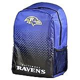Forever Collectibles Baltimore Ravens verblasst NFL Rucksack -