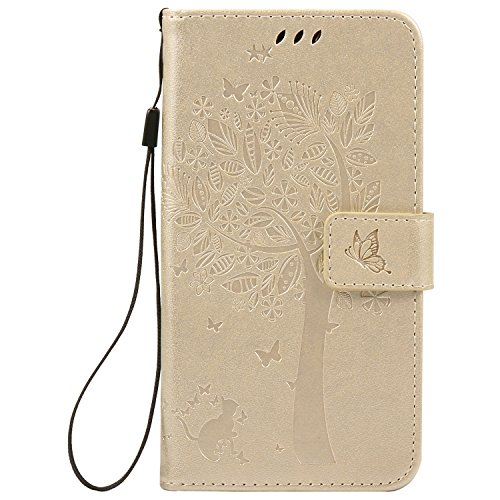 Nancen Compatible with Handyhülle Motorola Moto X Play (5,5 Zoll) Flip Schutzhülle Zubehör Lederhülle mit Silikon Back Cover PU Leder Handytasche im Bookstyle Stand Funktion