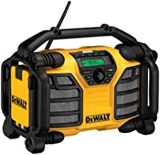DEWALT 20V MAX/12V Jobsite Radio and Battery Charger – Radio Only (DCR015)