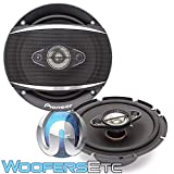 Pioneer TS-A1680F 6.5' 350 Watt 4-Way Coaxial Car Speakers
