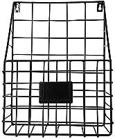 YBB-YB 壁掛け 収納棚 浴室ラック (:ブラックカラー)アイアンウォールは、ブックシェルフ浮動シェルフオーガナイザーリビングルームベッドルームオフィスストレージラック棚をマウント 家飾り 強力粘着固定