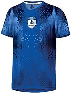 9df64e6cb PlayStation League 8-Bit Men T-Shirt - Blue