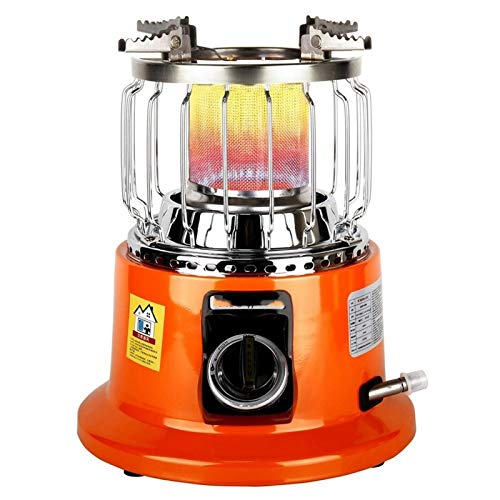 REWD Patio Heaters Outdoor Gas Winter Gas Heater Portable Adjustable Food Heating Stove for Outdoor Indoor Home Dual-Purpose Heaters (Color : 3000W)