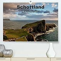 Schottland Landschaften (Premium, hochwertiger DIN A2 Wandkalender 2022, Kunstdruck in Hochglanz): Stimmungsvolle Landschaften, fantstische Sehenswuerdigkeiten und eindrucksvolles Licht sind der Reiz Schottlands (Monatskalender, 14 Seiten )