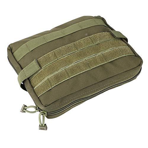 Bolsa de Primeros Auxilios médica Tactical Admin Molle Pouch Kit de Supervivencia de Emergencia para Paquete de Cintura Multiusos médico Kit de Utilidad Militar