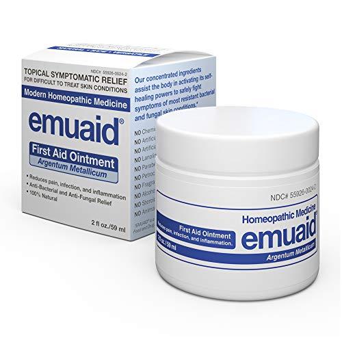 Emuaid Ointment - Antifungal, Eczema Cream. Regular Strength Treatment. Regular Strength for Athletes Foot,...
