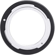 V BESTLIFE Alloy Lens Mount Adapter, M42 Type 2 Screw Mount Lens for Canon FD Camera(A-1, AE-1 Program, F-1, FTB and Others), Black
