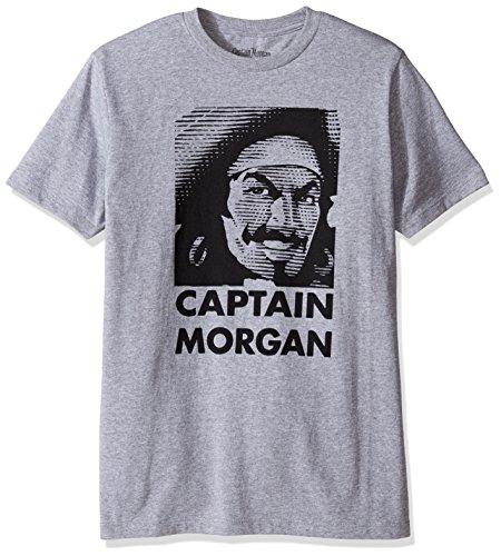 Captain Morgan Face Logo Tee Shirt - Large