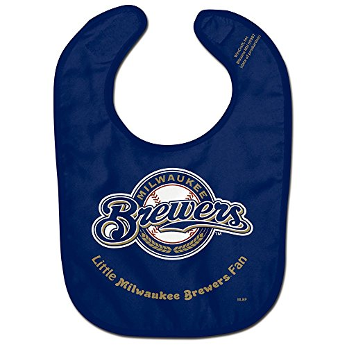 MLB Milwaukee Brewers WCRA2004814 All Pro Baby Bib