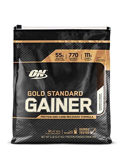 OPTIMUM NUTRITION Gold Standard Gainer, Cinnamon Bun, 10 Pound