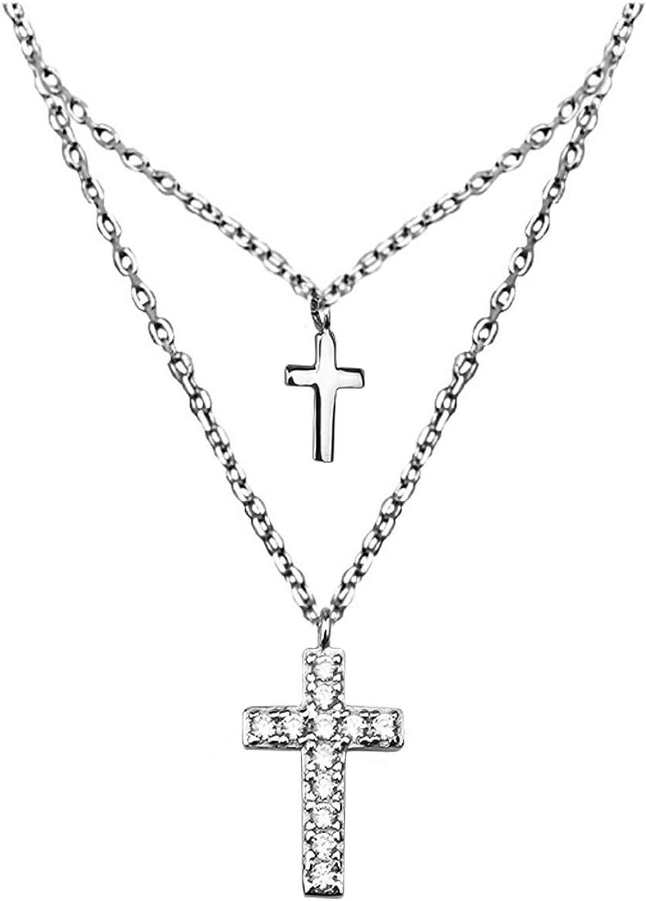 SOFIA MILANI - Women's Ranking TOP20 Necklace Silver Stone with 925 Superlatite Zirconia