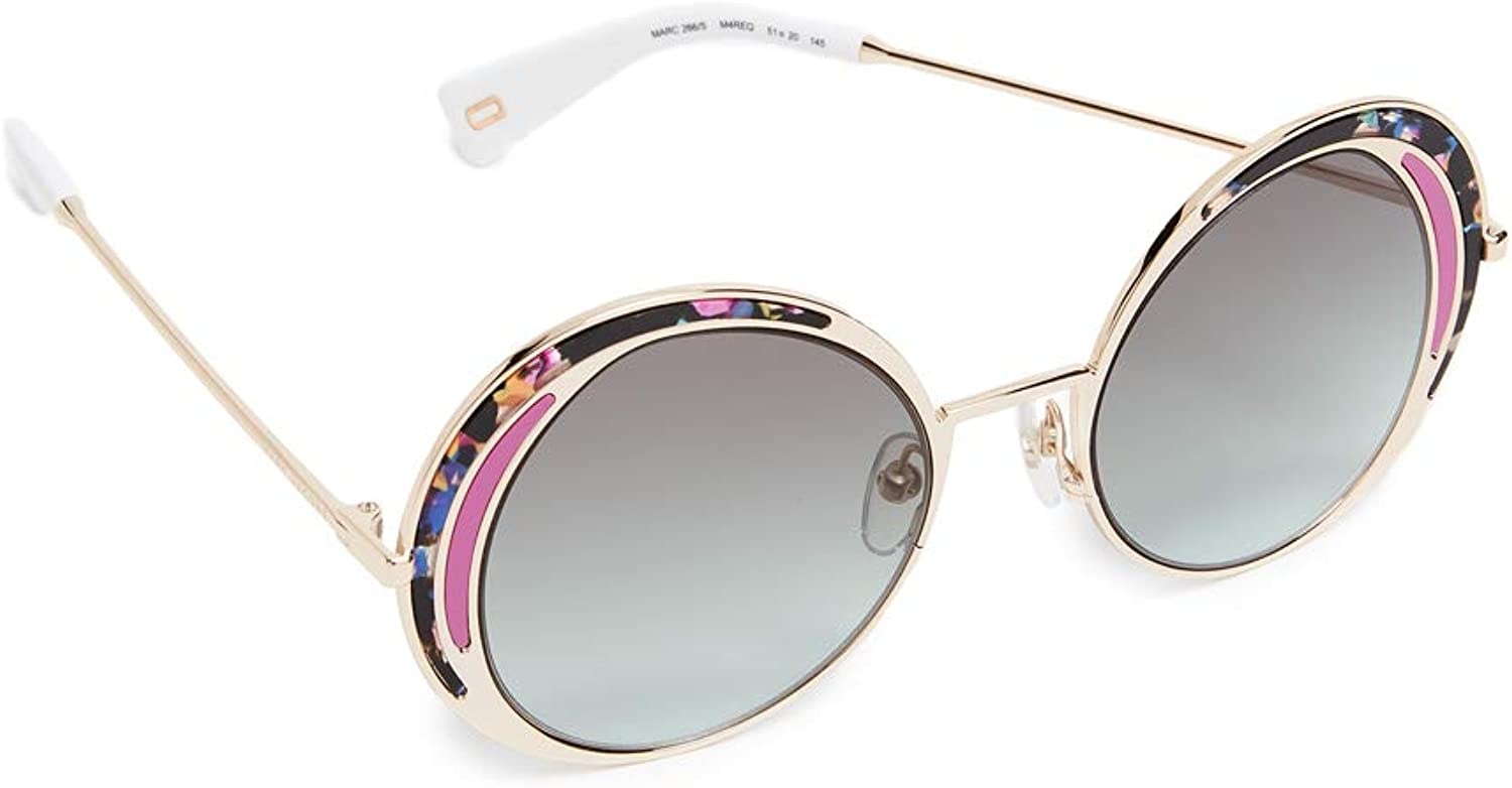 Marc Jacobs Women's Top Frame Round Sunglasses