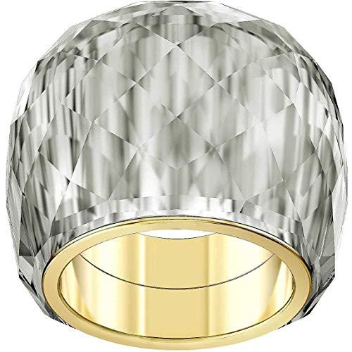 Swarovski Damen-Damenring NIRVANA Metall 55 Grau 32010499