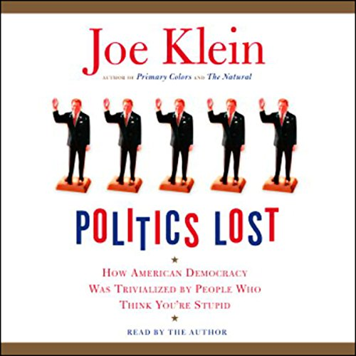 Politics Lost audiobook cover art