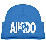 Aikido - Throw1 Cute Baby Girl Stretchy Knit Caps Kids Skull Beanies Hat