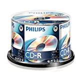 Philips Spindle 50 CD-R 700 Mo 80 mins 52x 908210002155