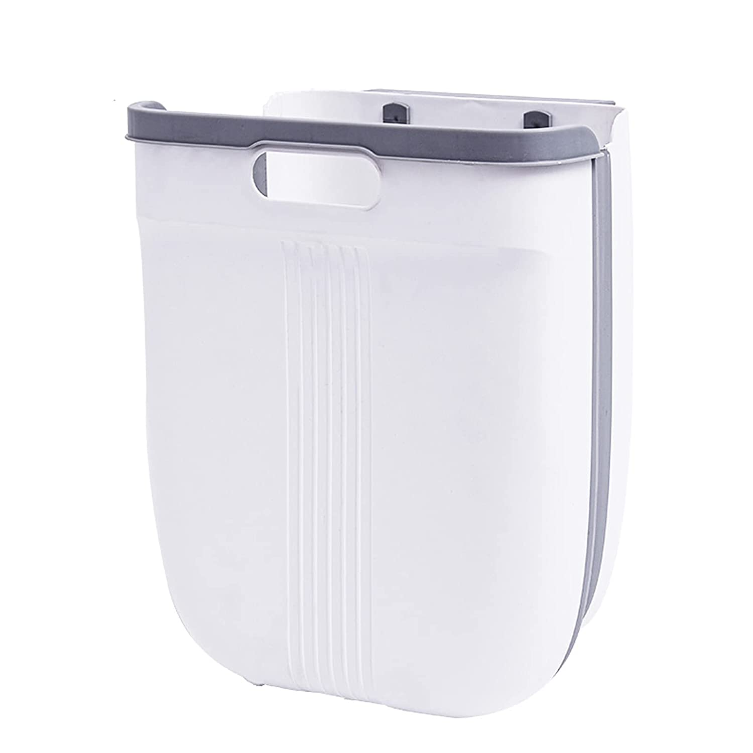 Seattle Mall Hanging Trash Can Folding Kitchen Waste Max 51% OFF Wall Mounted Small Bin
