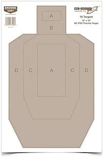 Birchwood Casey Eze-Scorer BC27 IPSC Practice Target (Per 10), 12 x 18-Inch