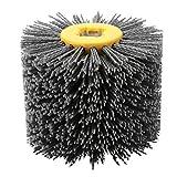 Rueda de pulido Cepillo de rueda Madera abierta Lacado Reducción de grano de madera Rueda de dibujo Malla 240 Rueda de pulido Grano # 240
