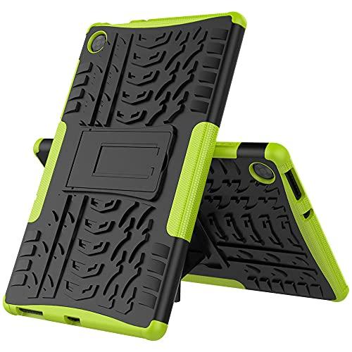 Cubierta a prueba de golpes para Lenovo Tab M10 HD Gen 2 Gen2 x306 x306f 10 1' Tablet Case Silicona PC soporte rígido escudo verde_Tab M10 HD Gen 2