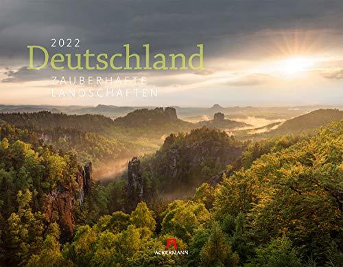 Deutschland - Zauberhafte Landschaften Kalender 2022, Wandkalender im Querformat (54x42 cm) - Landschaftskalender / Naturkalender