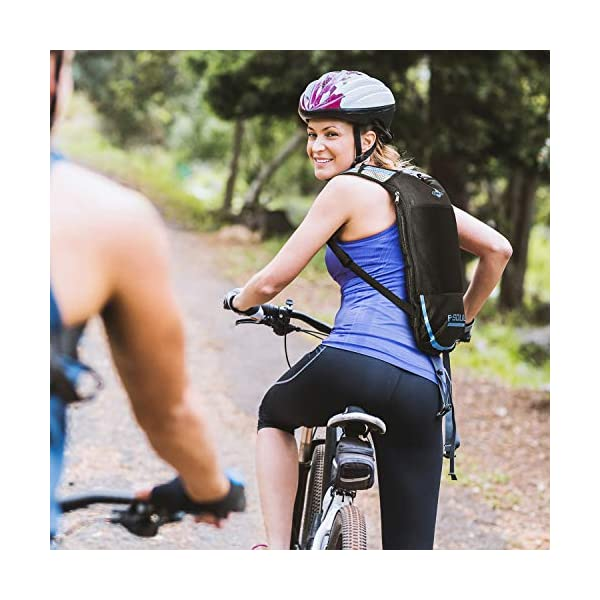 51Cu2FSqkuL. SS600  - Shayson Mochila de Hydration-2L Bolsas de hidratación y Unisexo Respirable Ultraligero Mochila de Hombro para Ciclismo…