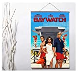 ZOEOPR Poster Baywatch Classic TV-Serie Poster Wandkunst