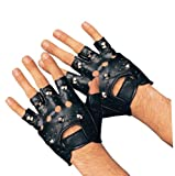 Rubie's Costume Co. Studded Costume Gloves, Multicolor, One Size