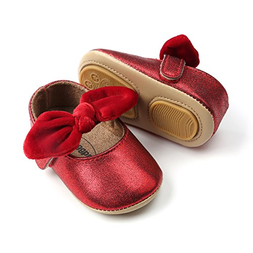 Girl Infant Red Shoes