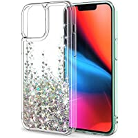 SunStory Multiple Style Options for iPhone 13 Pro Case (B-Silver)