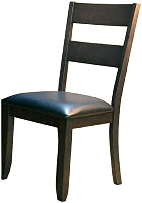 Admirable Amazon Com Acme 0 Set Of 2 Solid Hardwood Dining Chair Short Links Chair Design For Home Short Linksinfo