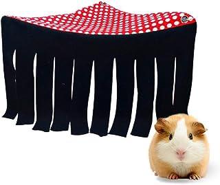 Cincilla, coniglio, ratto, riccio, scoiattolo, criceto e altri piccoli animali domestici – Accessori e giocattoli (rosso)