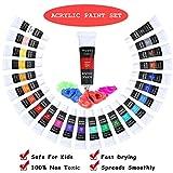 Immagine 2 24 tubetti colori acrilici per
