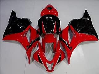 Glossy Red Black Injection Full Fairing Bodywork Kit Fit for Honda 2009-2012 CBR600RR