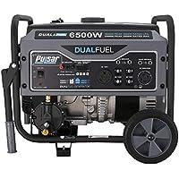 Pulsar G65BN Portable Gas/LPG Dual Fuel Generator