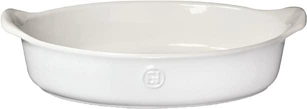 Emile Henry 239029 HR Ceramic Individual oval baker, Sugar