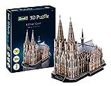 Revell- Catedral de Colonia, Longitud 35,0cm 3D Puzzle, Multicolor (00203)