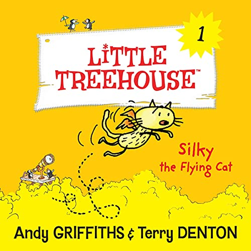 Silky the Flying Cat Audiobook By Andy Griffiths, Terry Denton cover art