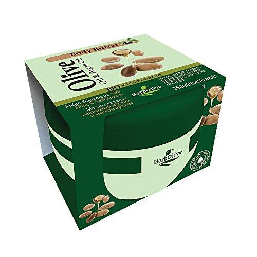 Herbolive Arganöl- Körperbutter , 1er Pack (1 x 250 ml)