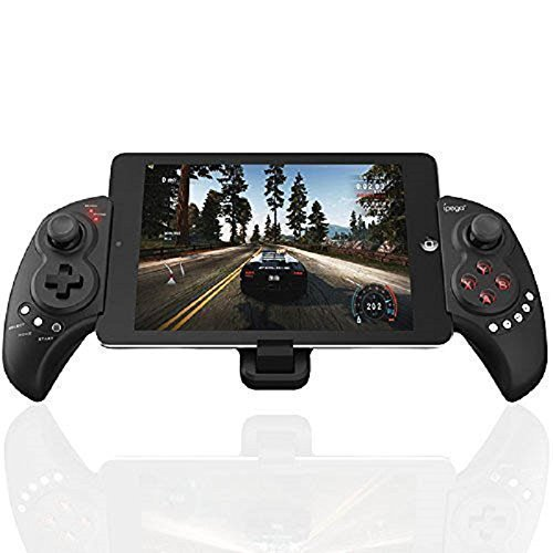 Mobile Game Controller, PowerLead PG9023S Wireless Gamepad Gaming Trigger Game Controller Compatible with 5-10  iOS Android Phone PC Tablet (Does not Support Above ios13.4)