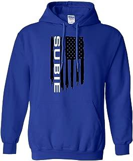 Men's Subie WRX STi USA Flag Hoodie
