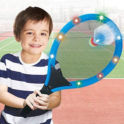 LED Badminton Set, Federbälle Beleuchtung,Federball Shuttlecock Für Outdoor En Indoor Sportsaktivitäten, Für Kinder Und Erwachsene, Mit 2 Schlägern Und 2 Badminton