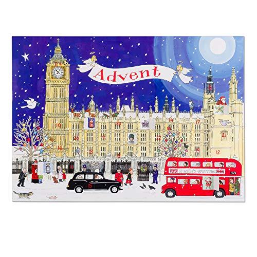 Alison Gardiner - Calendario dell'Avvento 'Palace of Westminster', formato A3, grande
