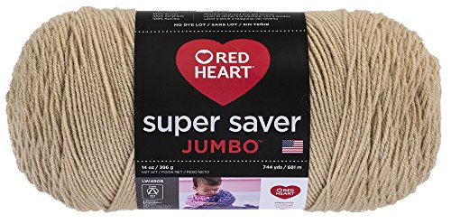 Red Heart Super Saver Jumbo Yarn – Buff